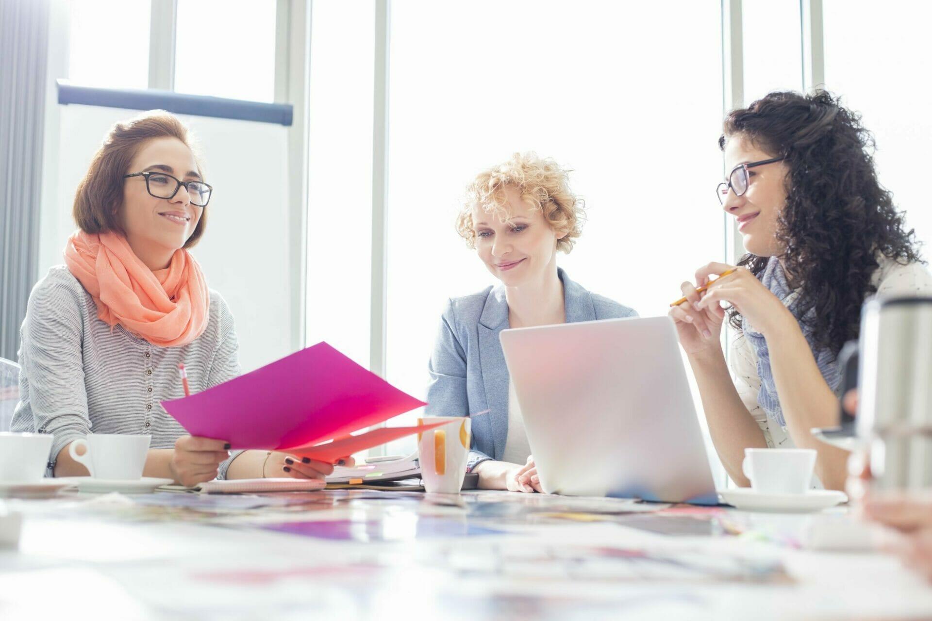 Women working, membership